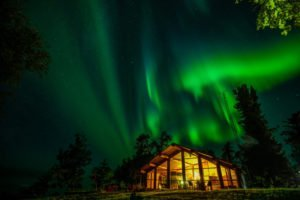 Northern Saskatchewan Aurora Borealis sky